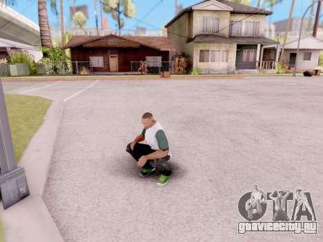 Реальные анимации из GTA 5 для GTA San Andreas третий скриншот
