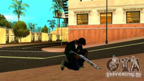Weapon Pack для GTA San Andreas девятый скриншот