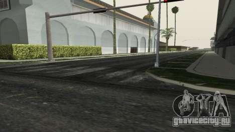 Дороги и растительность Los Santos для GTA San Andreas четвёртый скриншот