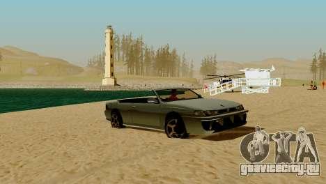 DLC гараж из GTA online абсолютно новый транспор для GTA San Andreas одинадцатый скриншот