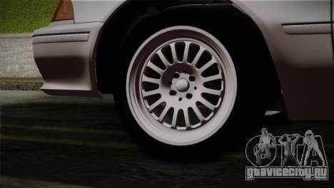 Toyota Mark GX81 для GTA San Andreas вид сзади слева
