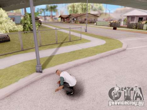Реальные анимации из GTA 5 для GTA San Andreas второй скриншот