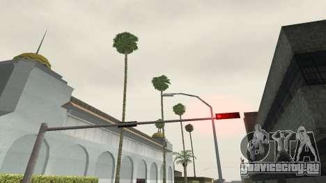 Дороги и растительность Los Santos для GTA San Andreas пятый скриншот