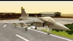 Saab Gripen NG для GTA San Andreas
