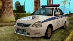 Lada Priora 2170 Полиция ДПС Москва для GTA San Andreas