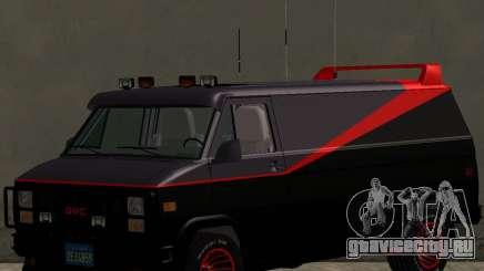 GMC The A-Team Van для GTA San Andreas