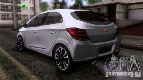 Chevrolet Onix для GTA San Andreas вид слева