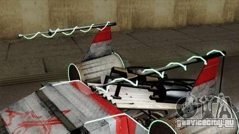 GTA 5 Space Docker IVF для GTA San Andreas вид справа