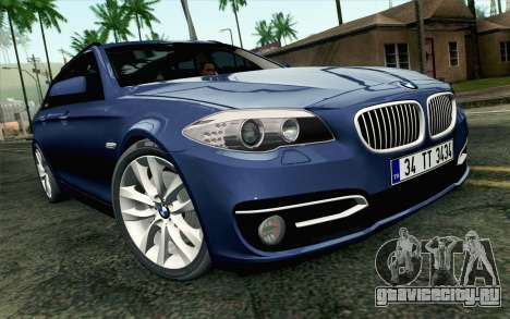BMW 530d F11 Facelift HQLM для GTA San Andreas