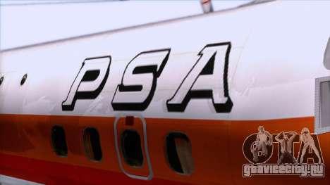 L-188 Electra PSA для GTA San Andreas вид сзади