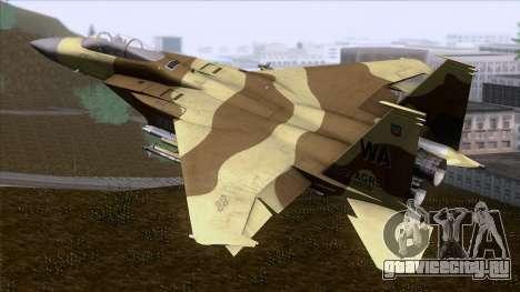 F-15C Camouflage Pack для GTA San Andreas вид слева