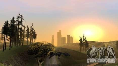 Возможность играть за птицу v2 для GTA San Andreas восьмой скриншот
