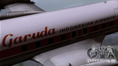 L-188 Electra Garuda Indonesia для GTA San Andreas вид справа