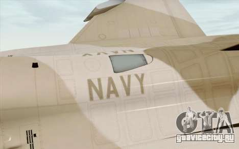 F-16C Fighting Falcon NSAWC Brown для GTA San Andreas