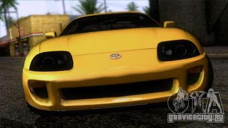 Toyota Supra US-Spec (JZA80) 1993 IVF АПП для GTA San Andreas