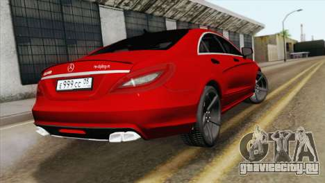 Mercedes-Menz CLS63 AMG для GTA San Andreas вид слева
