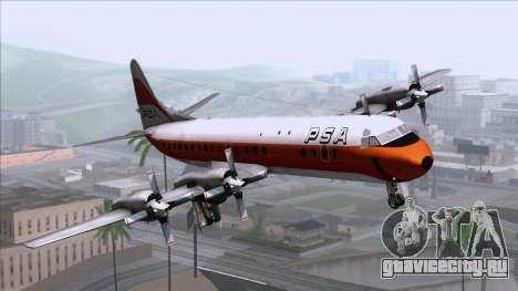 L-188 Electra PSA для GTA San Andreas