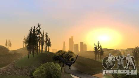Возможность играть за птицу v2 для GTA San Andreas седьмой скриншот