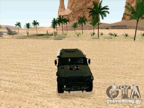 ГАЗ 2975 для GTA San Andreas вид слева