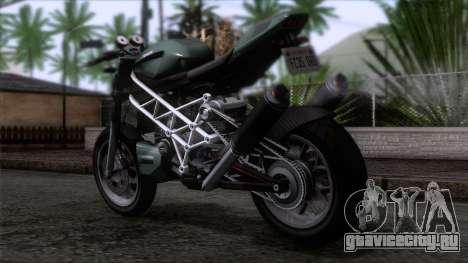 Principe Lectro для GTA San Andreas вид слева