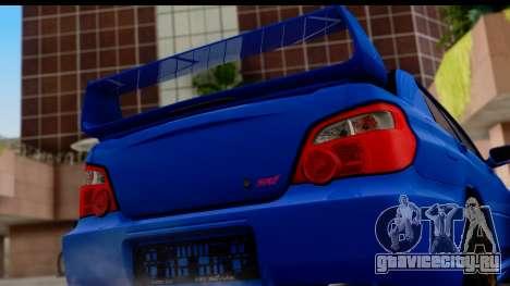 Subaru Impreza WRX STI 2004 для GTA San Andreas