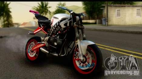Kawasaki Ninja ZX6R v3.1 Fixed для GTA San Andreas