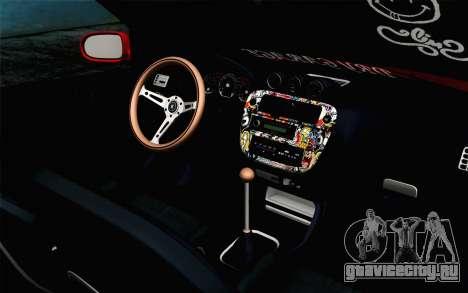 Honda Civic DRY Garage для GTA San Andreas вид справа