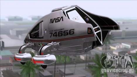 Shuttle v2 Mod 2 для GTA San Andreas вид слева