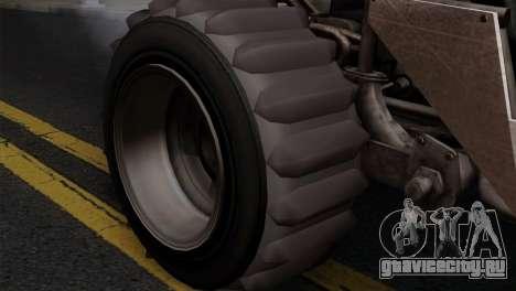 GTA 5 Dune Buggy для GTA San Andreas вид сзади