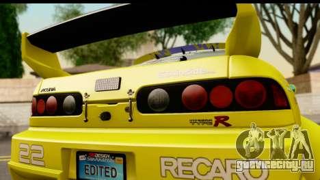 Acura Integra Type R 2001 для GTA San Andreas вид справа