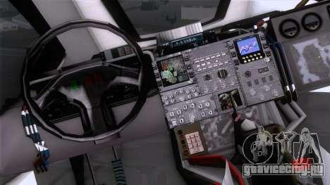 Shuttle v2 Mod 2 для GTA San Andreas вид справа