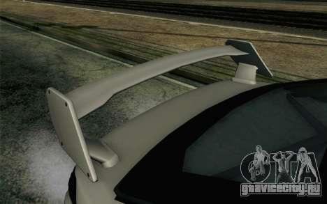 GTA 5 Karin Kuruma v2 Armored SA Mobile для GTA San Andreas вид справа