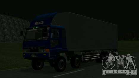 Mitsubishi Fuso The Great для GTA San Andreas