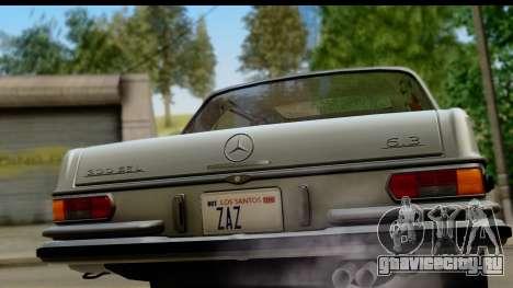 Mercedes-Benz 300 SEL 6.3 (W109) 1967 IVF АПП для GTA San Andreas вид справа