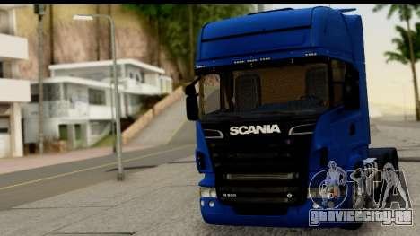 Scania G 4х6 для GTA San Andreas вид сзади слева