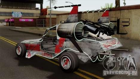 GTA 5 Space Docker IVF для GTA San Andreas вид слева