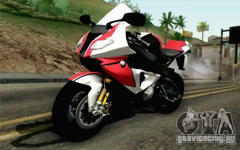 BMW S1000RR HP4 v2 Red для GTA San Andreas