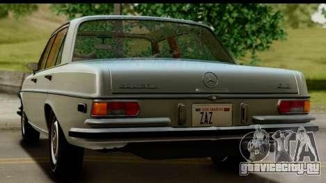 Mercedes-Benz 300 SEL 6.3 (W109) 1967 IVF АПП для GTA San Andreas вид сбоку