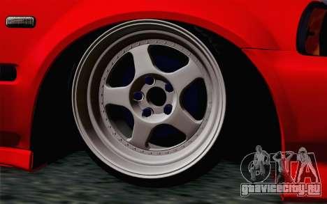 Honda Civic DRY Garage для GTA San Andreas вид сзади слева
