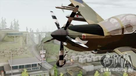 Embraer A-29B Super Tucano RAF для GTA San Andreas