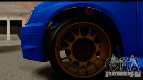 Subaru Impreza WRX STI 2004 для GTA San Andreas вид сзади