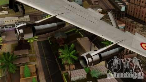Boeing 707-300 Fuerza Aerea Espanola для GTA San Andreas вид справа