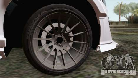 Subaru BRZ для GTA San Andreas вид сзади слева