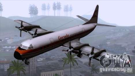 L-188 Electra Garuda Indonesia для GTA San Andreas