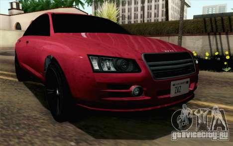 GTA 5 Obey Tailgater v2 SA Style для GTA San Andreas