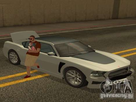 ALEX&GRIN Skin для GTA San Andreas второй скриншот