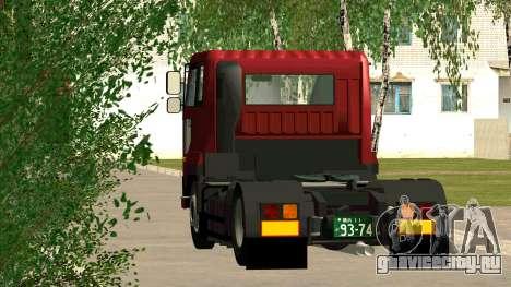 Nissan Diesel Bigthumb CK для GTA San Andreas