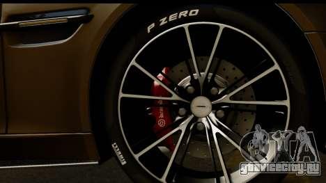Aston Martin Vanquish 2013 Road version для GTA San Andreas вид справа