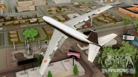 Boeing 707-300 Fuerza Aerea Espanola для GTA San Andreas вид слева