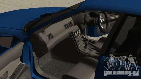 Nissan Skyline R32 Sedan для GTA San Andreas вид справа